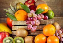 كم أكل من الفاكهة والخضروات يوميا