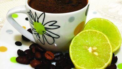 فوائد القهوة بالليمون