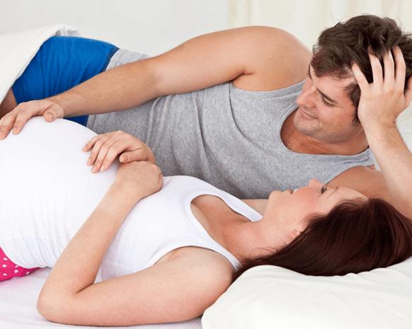 أوضاع الجماع للحامل