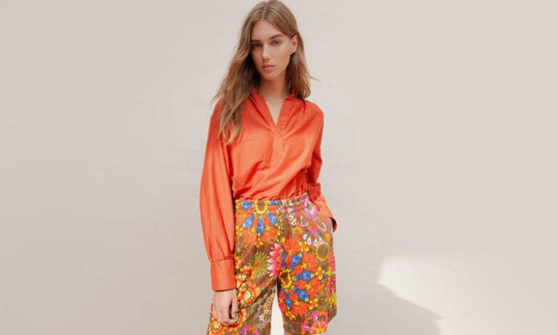 أنماط وطرق تنسيق اللون البرتقالي والفوشي