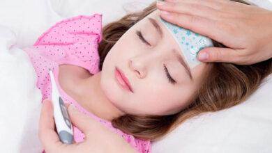 علاج أمراض الأطفال بفصل الخريف